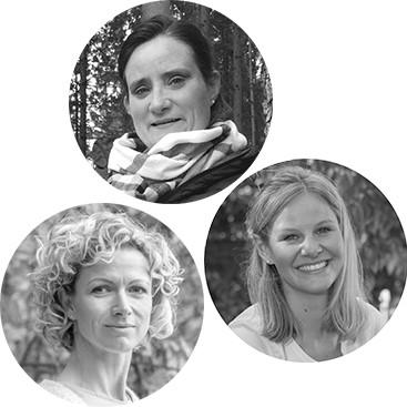 Dr. Katja Ritterbusch, Dr. Victoria Empl        & Kati Grajetzki